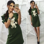 Модное женское платье М449