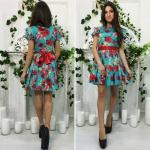 Модное женское платье М455