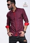 Мужские рубашки длинный рукав 51-37-157