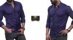Мужские рубашки длинный рукав 55-07-421