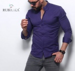 Мужские рубашки длинный рукав 55-61-421