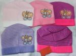 Осенне весенние детские шапки (девочка)