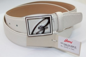 Мужской кожаный ремень Brioni  40 мм