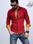 Мужские рубашки длинный рукав 60-01-519