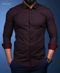 Мужские рубашки длинный рукав 65-01-603
