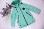 Детские демисезонные куртки р.116-140 66-387-1