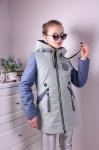 Детские демисезонные парковые куртки р. 128-152 66-398-1