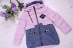 Детские демисезонные парковые куртки р. 128-152 66380