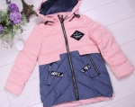 Детские демисезонные парковые куртки р. 128-152 66380-2