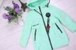 Детские демисезонные парковые куртки р. 122-146 66391-1