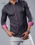 Мужские рубашки длинный рукав 67-21-735