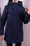 Детские демисезонные парковые куртки р. 128-152 7-102-1