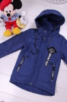 Детские демисезонные куртки р.110-134 7-813