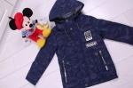 Детские демисезонные куртки р.122-146 7-90
