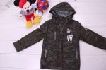 Детские демисезонные куртки р.110-134 7-92-1
