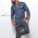 Мужские рубашки длинный рукав 71-61-408