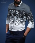 Мужские рубашки длинный рукав 71-62-306