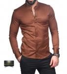 Мужские рубашки длинный рукав 74-61-436