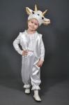 Новогодний костюм Козочка белая