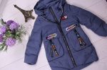 Детские демисезонные куртки р.104-128 806-2