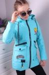 Детские демисезонные куртки р. 122-146 815