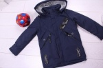 Детские демисезонные куртки р.116-140 832-1