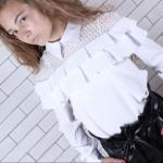 Школьная блузка 714