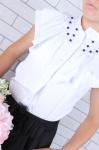Школьная блузка 558
