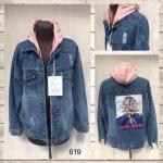 Женская джинсовая куртка МОМ 619-3