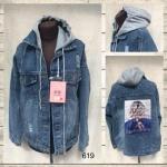 Женская джинсовая куртка МОМ 619-2