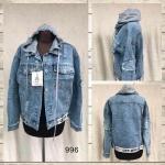 Женская джинсовая куртка МОМ