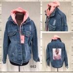 Женская джинсовая куртка МОМ 662-2