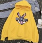 Батник с капюшоном Rabbit на флисе
