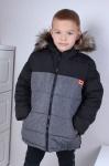 Зимняя детская куртка комбинезон рр.116-140 609