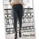 Джинсы женские полубатал Esqua Американка