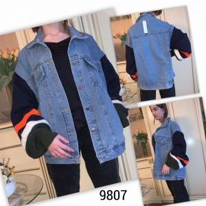 Женская джинсовая куртка 9807