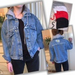 Женская джинсовая куртка 9808