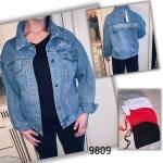 Женская джинсовая куртка 9809
