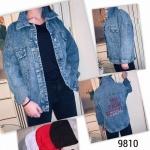 Женская джинсовая куртка 9810
