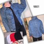 Женская джинсовая куртка 9801