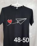 Женская футболка полубатал 1370-1