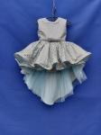 Бальное платье со шлейфом 2-3 года