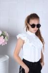 Школьная блузка 140-170 558-1