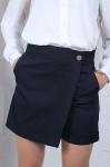 Школьные шорты-юбка 146-164 46071
