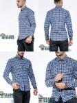 Мужские рубашки длинный рукав
