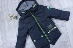 Детские демисезонные куртки-парки р.86-116  1712-2