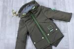 Детские демисезонные куртки-парки р.86-116  1712-1