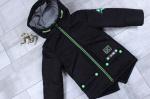 Детские демисезонные куртки-парки р.86-116  1712-3
