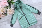 Детские демисезонные куртки р.116-140  W2133-3