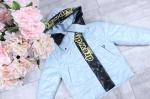 Детские демисезонные куртки р.122-146  2107-2